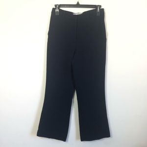 & other stories navy dress pants size 4